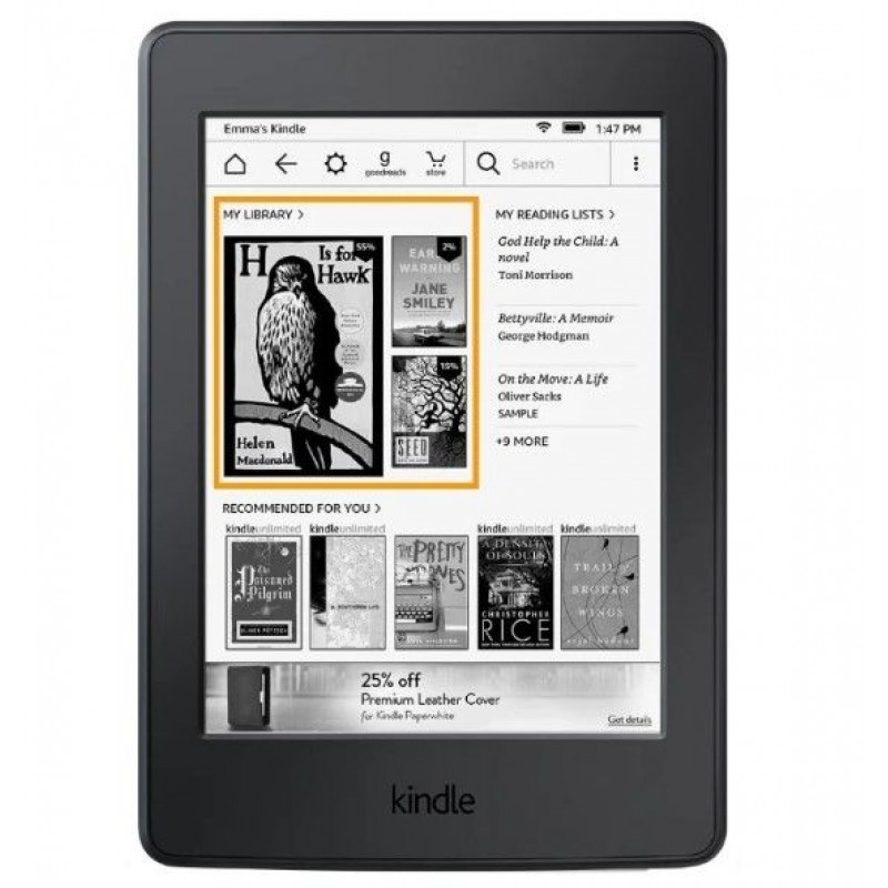 Электронная книга Amazon Kindle 8 Черная