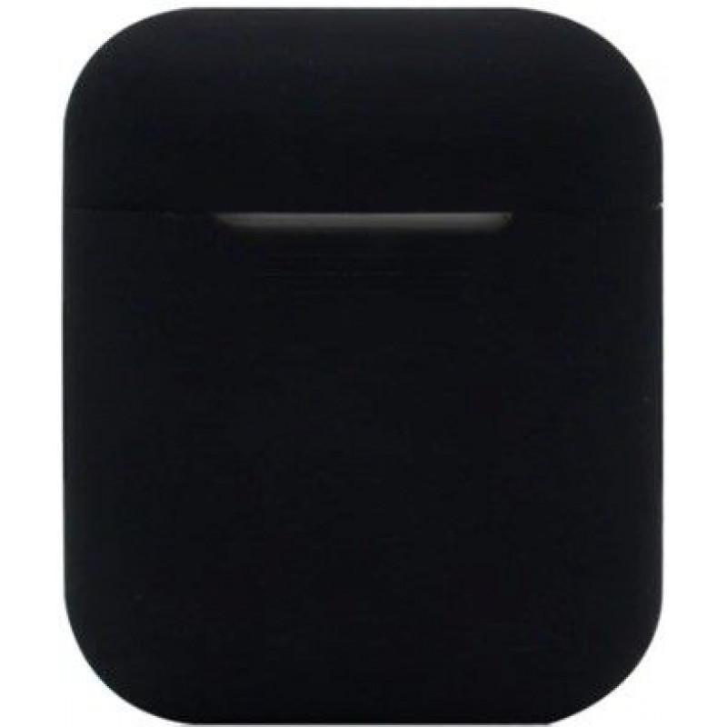 Силиконовый чехол для Apple AirPods Черный