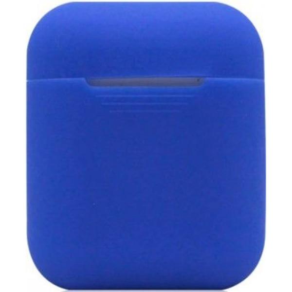 Силиконовый чехол для Apple AirPods Синий