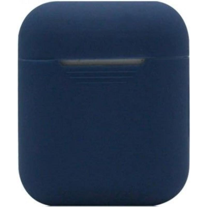 Силиконовый чехол для Apple AirPods Темно-Синий