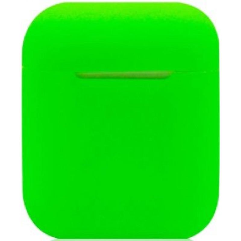 Силиконовый чехол для Apple AirPods Зеленый