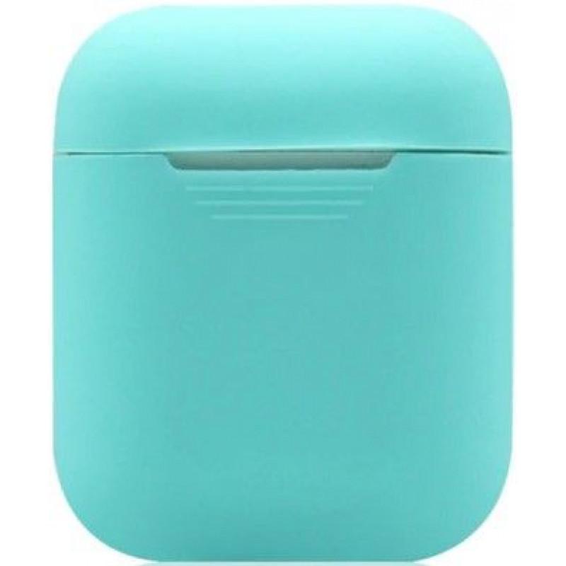 Силиконовый чехол для Apple AirPods Мятный Зеленый
