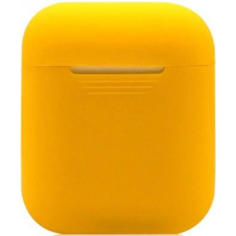 Силиконовый чехол для Apple AirPods Оранжевый