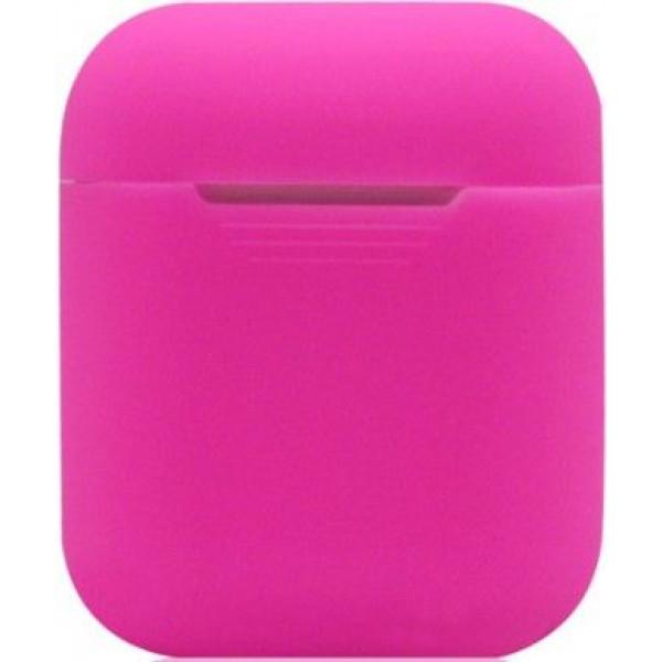 Силиконовый чехол для Apple AirPods Розовый