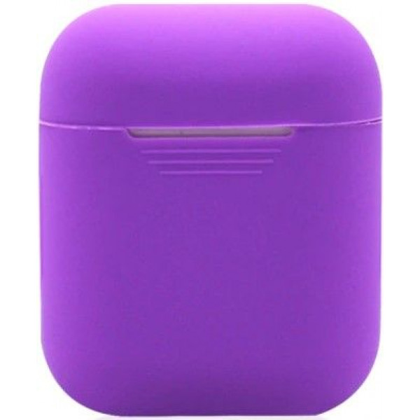 Силиконовый чехол для Apple AirPods Фиолетовый