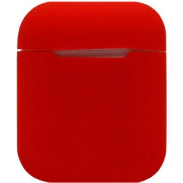Силиконовый чехол для Apple AirPods Красный