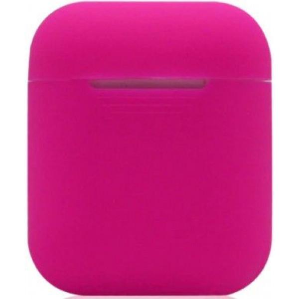 Силиконовый чехол для Apple AirPods Розовое Золото