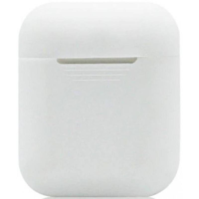 Силиконовый чехол для Apple AirPods Белый