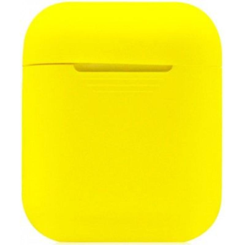 Силиконовый чехол для Apple AirPods Желтый