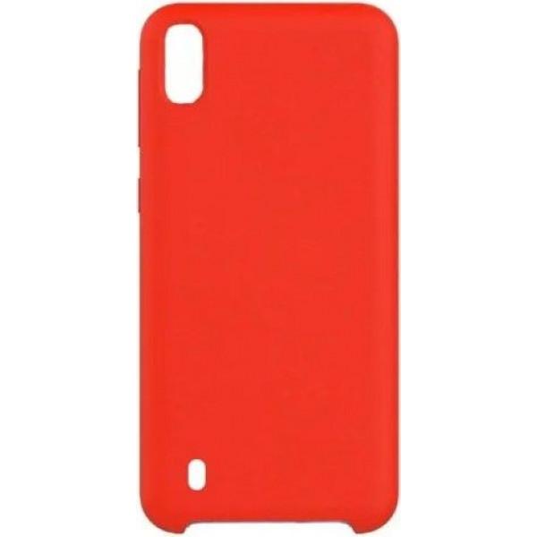 Силиконовый чехол для Samsung A10 Красный