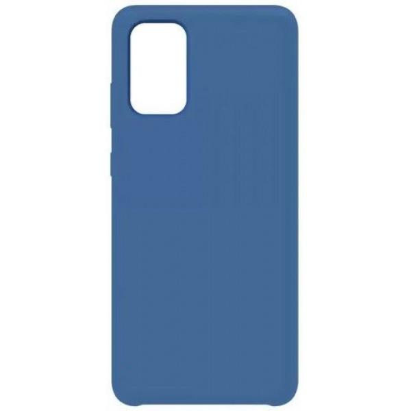 Силиконовый чехол для Samsung A51 Синий