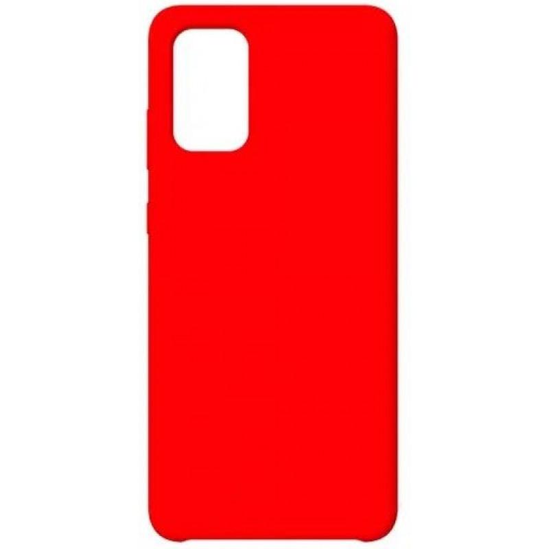 Силиконовый чехол для Samsung A51 Красный