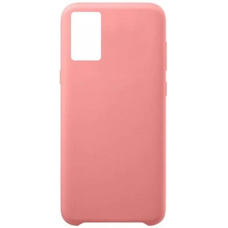 Силиконовый чехол для Samsung A51 Розовый