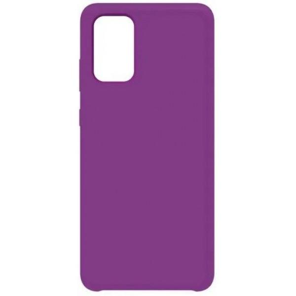 Силиконовый чехол для Samsung A51 Фиолетовый