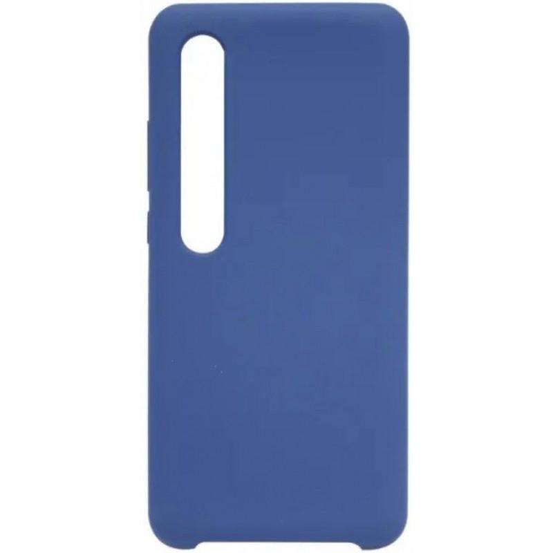 Силиконовый чехол для Xiaomi Mi 10 Pro Синий