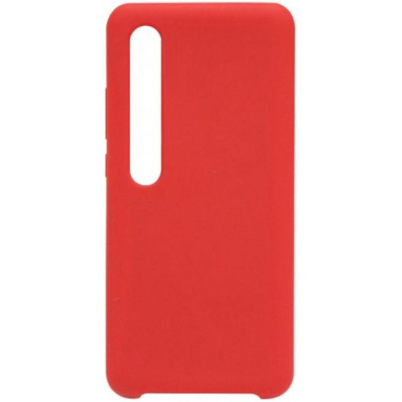 Силиконовый чехол для Xiaomi Mi 10 Pro Красный