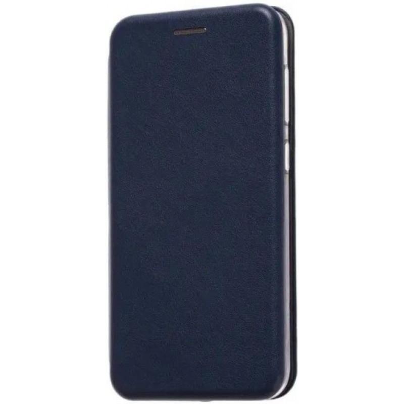 Чехол-книжка для Xiaomi Mi 10 Pro Синий