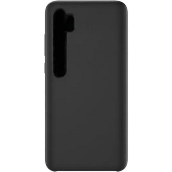 Силиконовый чехол для Xiaomi Mi Note 10 Черный