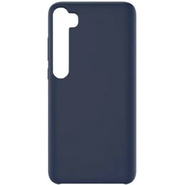 Силиконовый чехол для Xiaomi Mi Note 10 Синий