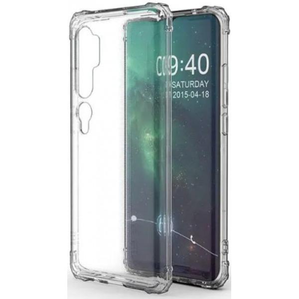 Силиконовый чехол для Xiaomi Mi Note 10 Прозрачный