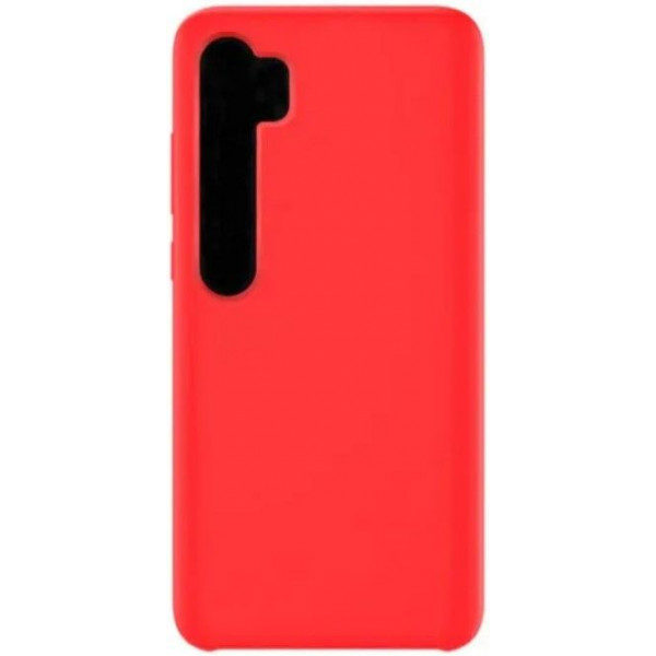 Силиконовый чехол для Xiaomi Mi Note 10 Красный