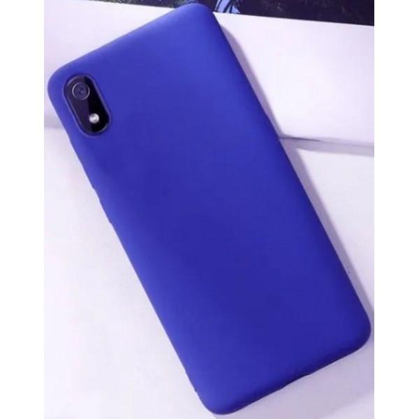 Силиконовый чехол для Xiaomi Redmi 7A Синий
