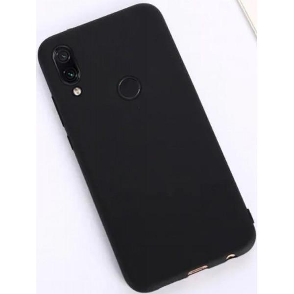 Силиконовый чехол для Xiaomi Redmi Note 7 Черный