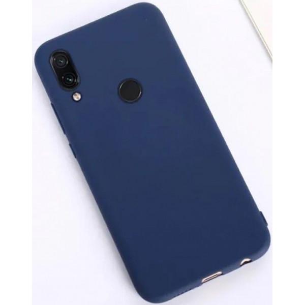 Силиконовый чехол для Xiaomi Redmi Note 7 Синий