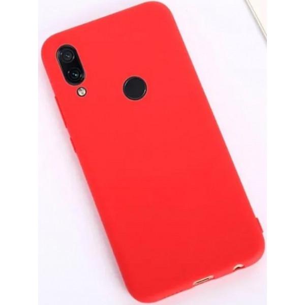 Силиконовый чехол для Xiaomi Redmi Note 7 Красный