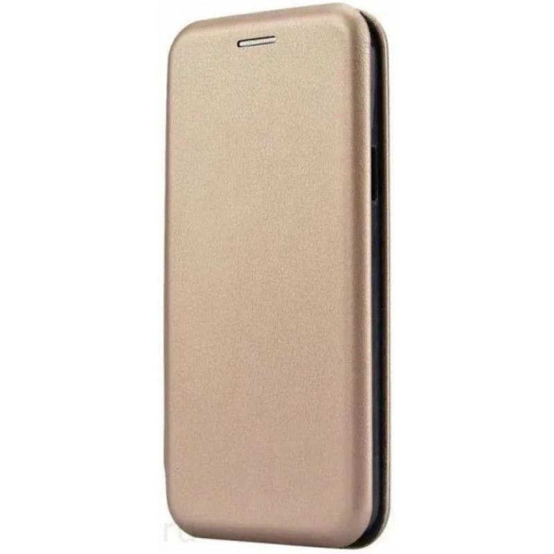 Чехол-книжка для Xiaomi Redmi Note 8 Золотой
