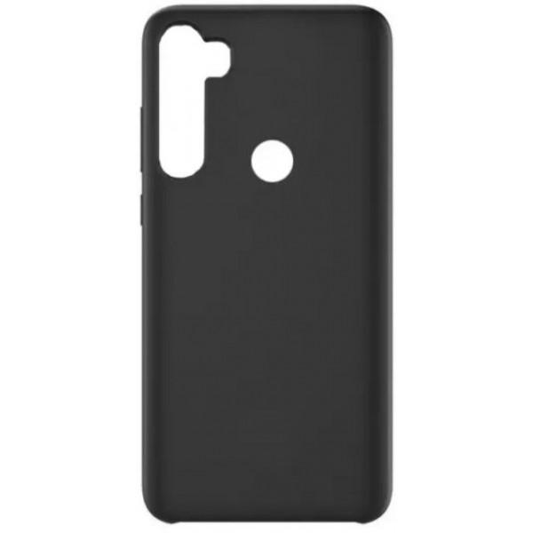 Силиконовый чехол для Xiaomi Redmi Note 8 Черный