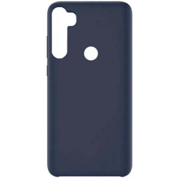 Силиконовый чехол для Xiaomi Redmi Note 8 Синий