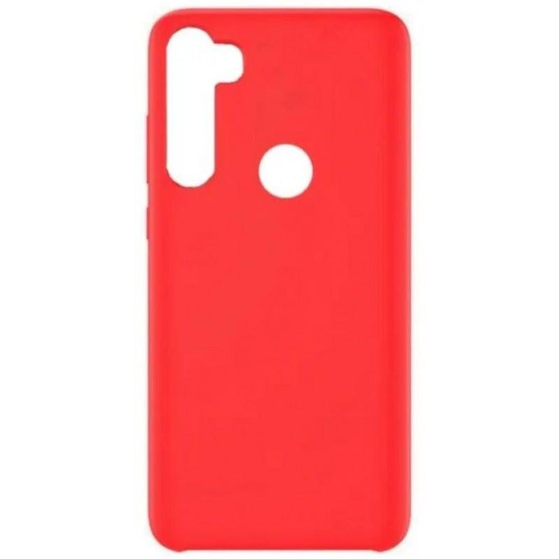 Силиконовый чехол для Xiaomi Redmi Note 8 Красный