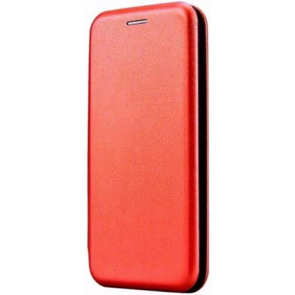 Чехол-книжка для Xiaomi Redmi Note 8 Pro Красный