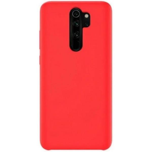 Силиконовый чехол для Xiaomi Redmi Note 8 Pro Красный