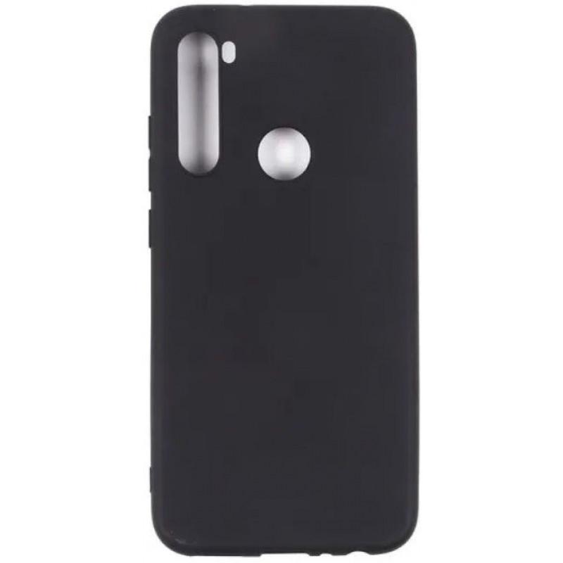 Силиконовый чехол для Xiaomi Redmi Note 8T Черный