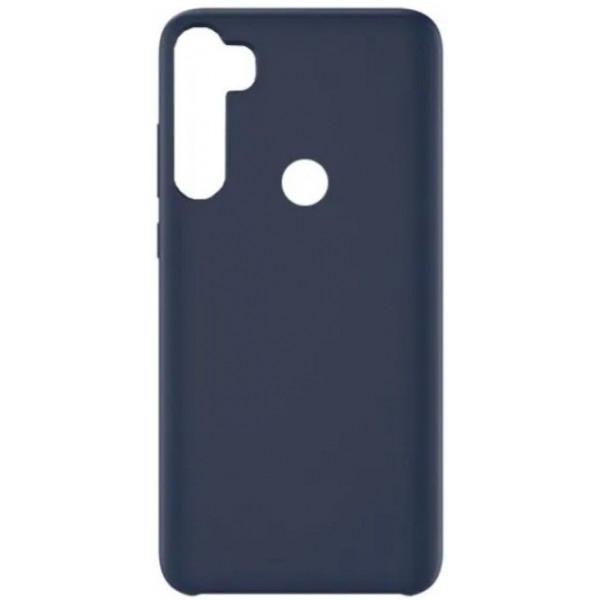 Силиконовый чехол для Xiaomi Redmi Note 8T Синий