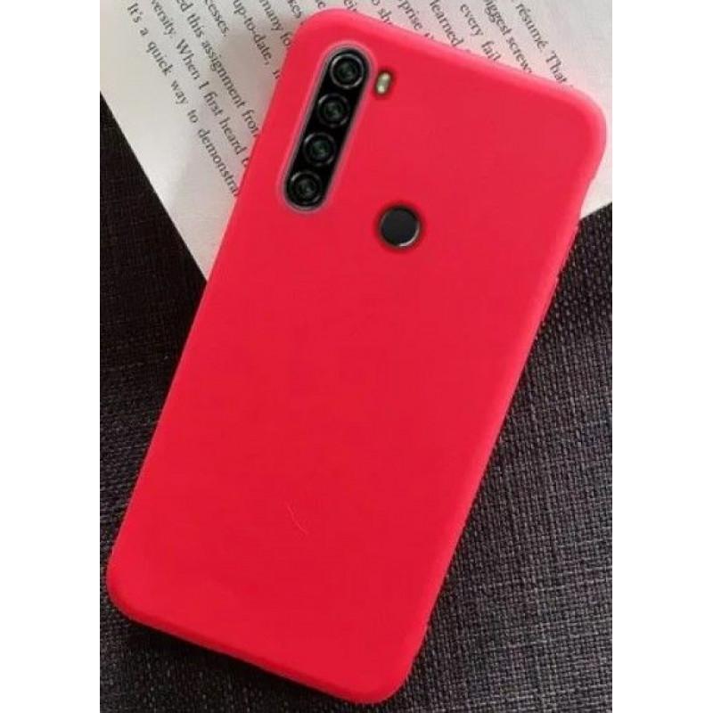 Силиконовый чехол для Xiaomi Redmi Note 8T Красный