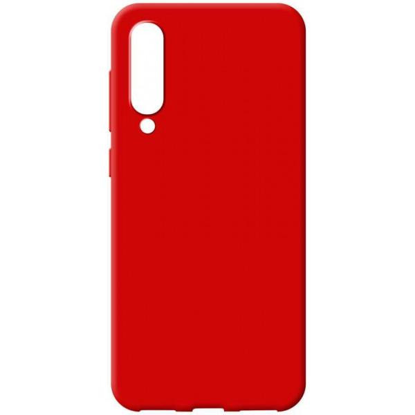 Силиконовый чехол для Xiaomi Mi 9 Lite Красный