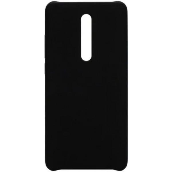 Силиконовый чехол для Xiaomi Mi 9T Pro Черный