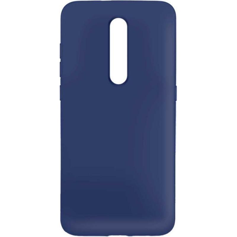 Силиконовый чехол для Xiaomi Mi 9T Синий