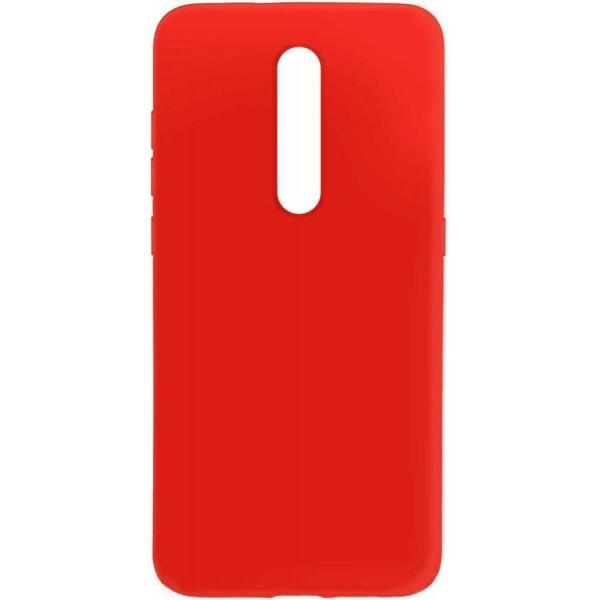 Силиконовый чехол для Xiaomi Mi 9T Красный