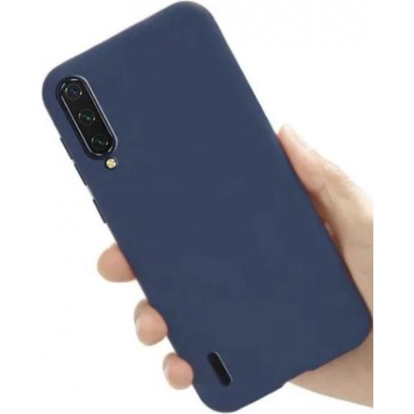 Силиконовый чехол для Xiaomi Mi A3 Синий