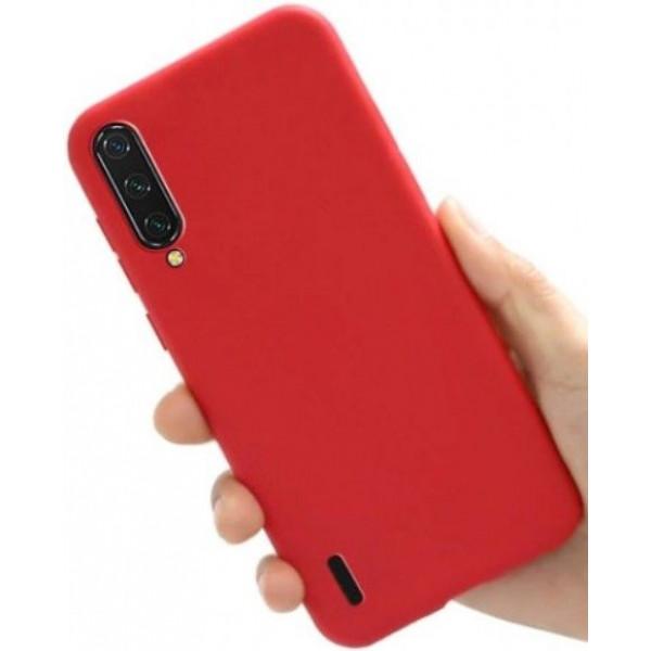 Силиконовый чехол для Xiaomi Mi A3 Красный