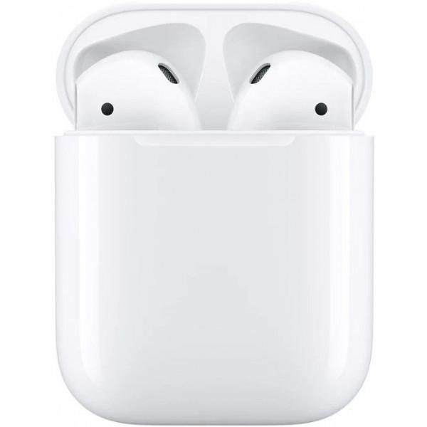 Наушники Apple AirPods 2 (с зарядным футляром) MV7N2