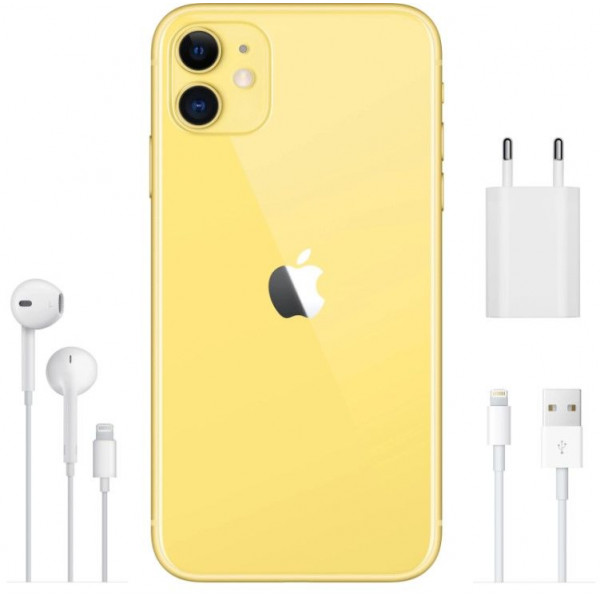 Apple iPhone 11 256GB Yellow/Желтый