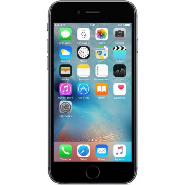 Смартфон Apple iPhone 6S Plus 128GB Space Gray