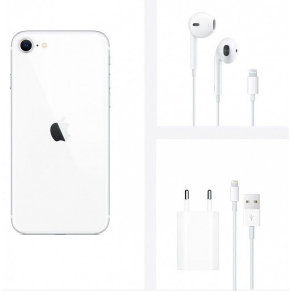 Смартфон Apple iPhone SE 2020 64GB White/Белый