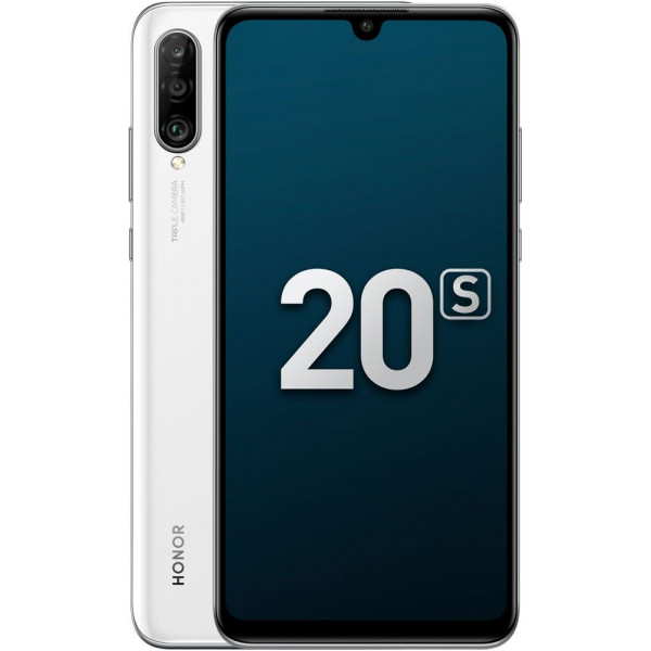 Смартфон Honor 20s 6/128Gb White/Белый РСТ