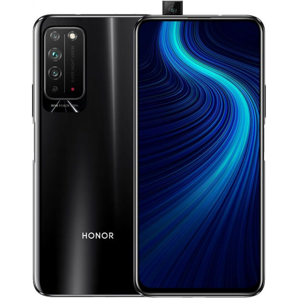 Смартфон Honor X10 6/64GB Black/Черный